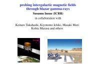 probing intergalactic magnetic fields through blazar gamma-rays - cta