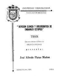 revision clinica y bibliografica de embarazo ectopico - Universidad ...