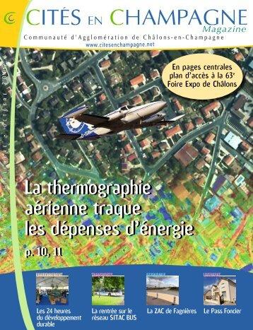 La thermographie aérienne traque les dépenses d'énergie La ...