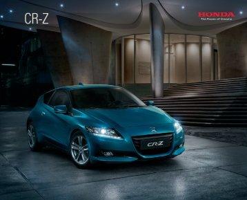 CR-Z (PDF, 10 MB) - Honda
