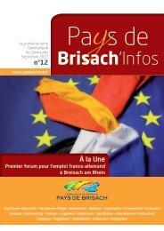 Brisach'Infos - Communauté de communes du Pays de Brisach