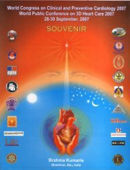 BKWSU Heart Congress, Souvenir 2007.pdf - Brahma Kumaris Info
