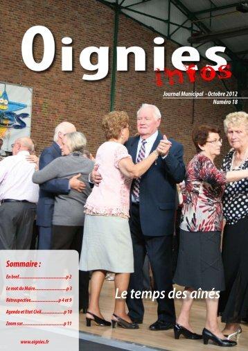 jm octobre - Site officiel de la ville de Oignies