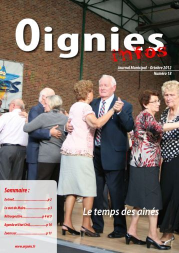 jm octobre - Site officiel de la ville de Oignies