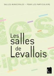 Salles pour les particuliers - Ville de Levallois