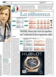 Mobilità, dimezzati i mesi di copertura ma l ... - La Repubblica