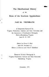 The Distributional History - Native Fish Lab of Marsh & Associates LLC