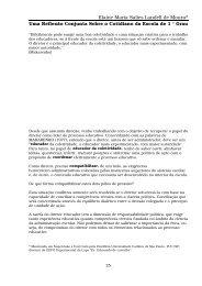 Elaine Maria Salies Landell de Moura* - Centro de Referência em ...