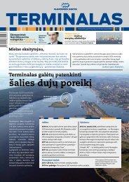 šalies dujų poreikį - Klaipėdos valstybinis jūrų uostas