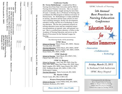 5th Annual Best Practices in Nursing Education Conference