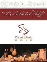 Scarica il catalogo delle confezioni natalizie - Piaceri d'Italia