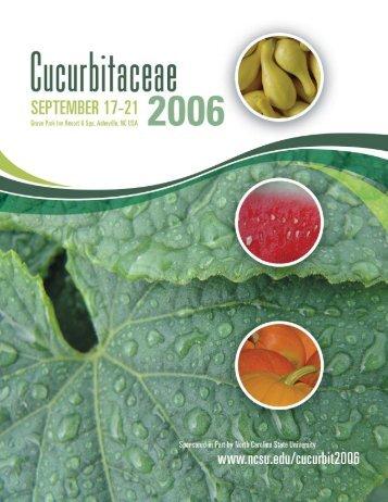 Cucurbitaceae Brochure - Cucurbit Breeding