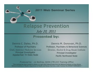 Download slides - CTN Dissemination Library