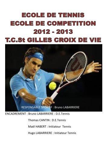 Acrostiche de thomas for Cours de tennis en ligne