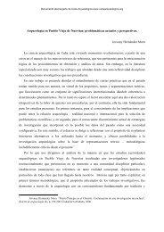 Arqueología en Pueblo Viejo de Nuevitas - Cuba Arqueológica