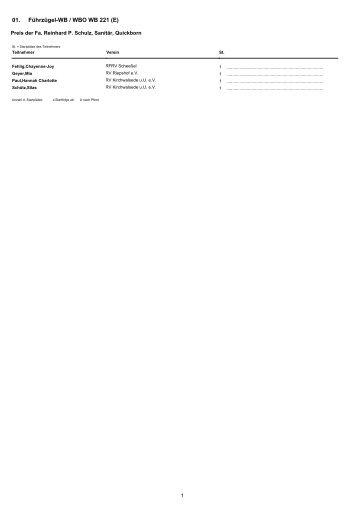 Führzügel-WB / WBO WB 221 (E) 01.