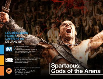 spartacus: Gods of the arena - Shaw Direct