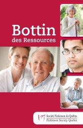 Bottin français - Parkinson Society Quebec