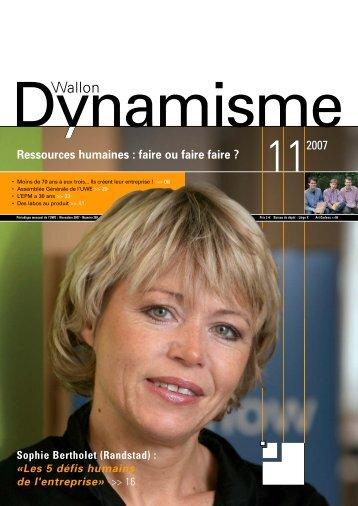 Ressources humaines : faire ou faire faire - Union Wallonne des ...