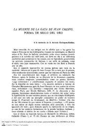 La muerte de la gata de Juan Crespo, poema del Siglo de Oro