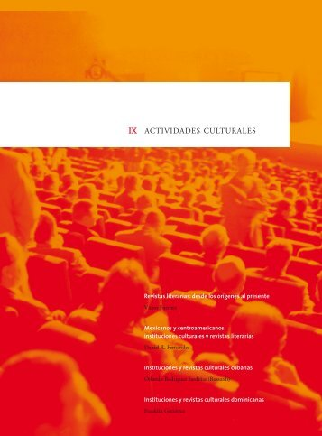 Revistas literarias: desde los orígenes al presente - Centro Virtual ...