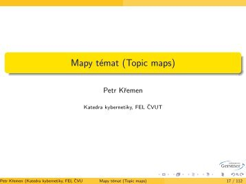 Mapy témat (Topic maps)