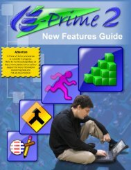 E-Prime Reference Guide What's New for E-Prime 2.0 3
