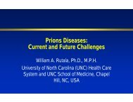 Prions Diseases: C t d F t Ch ll Current and Future ... - Apicdfw.org