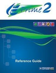 E-Prime 2.0 Reference Guide