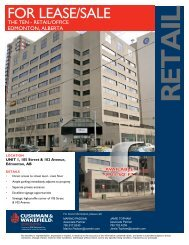 for lEASE/SAlE