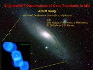 Chandra/HST Observations of X-ray Transients in M31