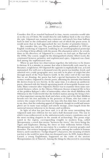 gilgamesh the hero by geraldine mccaughrean pdf