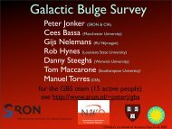 Gijs Nelemans (RU Nijmegen) Manuel Torres(CfA) - Chandra X-Ray ...