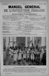 MANUEL GÉNÉRAL DE L'INSTRUCTION PRIMAI RE - INRP