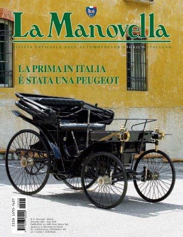 la prima in italia è stata una peugeot la prima in italia è stata una ...