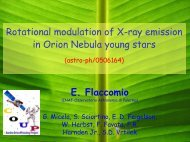 Rotational modulation of X-ray emission in Orion Nebula young stars