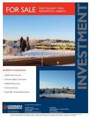 5520 Calgary Trail brochure.indd