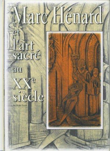 Marc Hénard et l'art sacré au XXe siècle (Daniel ... - Vents du Morvan