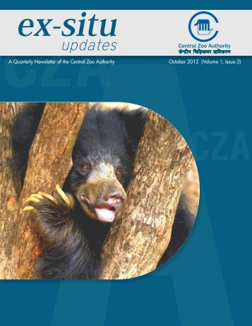 Ex-Situ updates - Central Zoo Authority