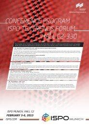 Ausführliches Konferenz Programm - Ispo