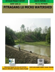 PITRAGANG LU MICRO WATERSHED - the Department of ...