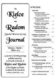 Speciaf interest Group - JewishGen