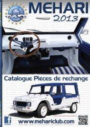 Catalogue Méhari - 2CV MEHARI CLUB CASSIS