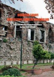 bukoleon sarayı 2009 sezonu temizlik çalışmaları - İSTANBUL (1 ...