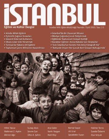 e-Dergi için tıklayınız... - İstanbul İl Milli Eğitim Müdürlüğü - Milli ...