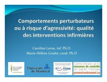 Télécharger la présentation (PDF) - Ordre des infirmières et des ...