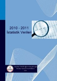 Sayfa 1 Strateji Geliştirme Bölümü 2011 - İstanbul İl Milli Eğitim ...