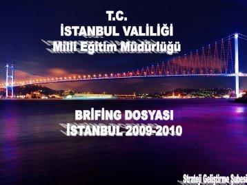 Slayt 1 - İstanbul İl Milli Eğitim Müdürlüğü