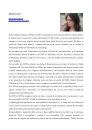 Elisabetta Neri betsneri@yahoo.it elisabetta.neri@unicatt.it ... - Istituti