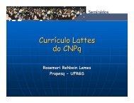 (Microsoft PowerPoint - Apresenta\347\343o Lattes.ppt) - Ufrgs